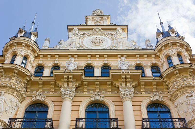 Riga Art Noveau building