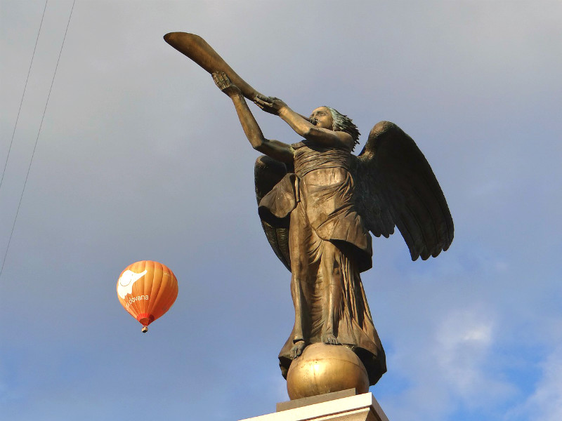 Uzupis Angel statue in Vilnius