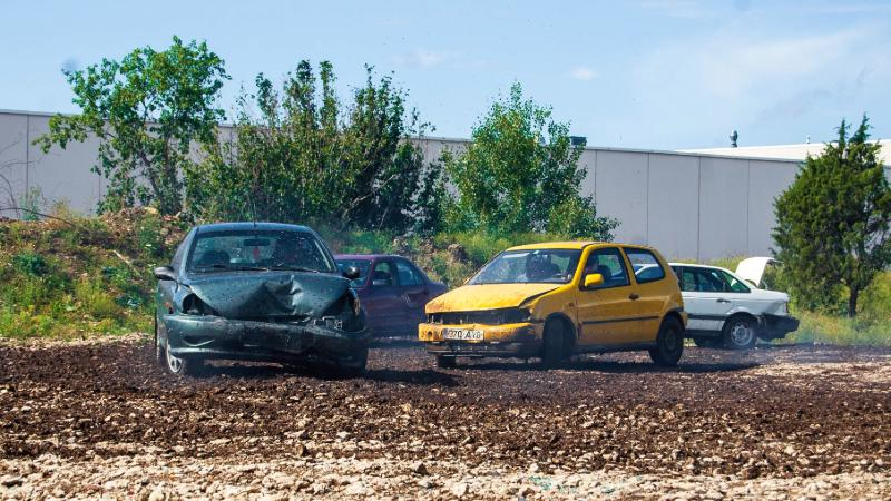 Demolition derby activity Tallinn for mice groups
