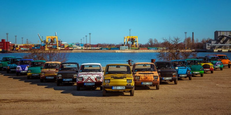Fiat challenge car activity in Riga