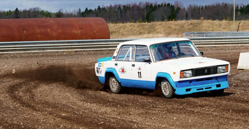 Lada Rally activity for groups in Tallinn
